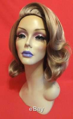 50s GRACE KELLY WIG! Lace Front Custom Drag Vintage Retro Dark Blonde ALL COLORS