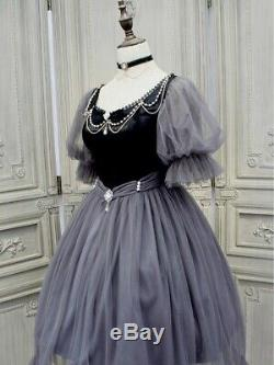 Custom Made To Order Vintage Bubble Sleeves Tulle Cocktail Dress Plus1x-10x L259