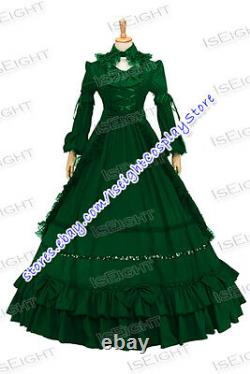 Elegant Gothic Classic Lolita Princess Sweet Tiered Lace Ball Gown Dress Party