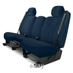 For Chevy Classic 04-05 Duramax Tweed 2nd Row Dark Blue Custom Seat Covers