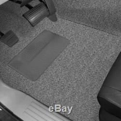 For GMC Sierra 1500 HD Classic 07 Carpet Essex Replacement Molded Dark Slate