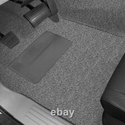 For GMC Sierra 2500 HD Classic 07 Carpet Essex Replacement Molded Dark Slate