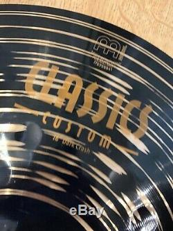 Meinl Classics Custom 16 Dark Crash Cymbal #174