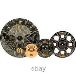 Meinl Classics Custom Dark Effects Cymbal Pack with Free 8 Brilliant Bell