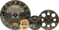 Meinl Classics Custom Dark Effects Pack with Free 8 Brilliant Bell