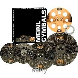 Meinl Classics Custom Dark Set Cymbal Pack withTrash Crash and Ching Ring