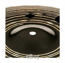 Meinl Cymbals 12 Trash Stack Cymbal Pair with Holes Classics Custom Dark