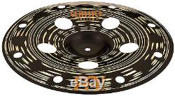 Meinl Cymbals 16 Trash China Cymbal with Holes Classics Custom Dark MADE IN