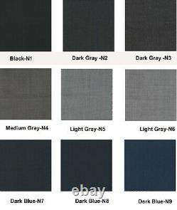 Men's Charcoal dark gray suits Classic Modern formal wedding Cashmere wool Suit